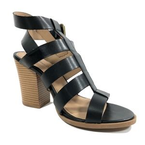 af6ab4c8c00e American Eagle By Payless Shoes - Women s Wilder Block Black   Brown Heels